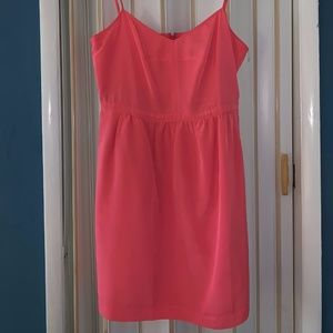 LIKE NEW J. Crew Pink Spaghetti Strap Dress